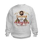 Ring Cycle Survivor Kids Sweatshirt