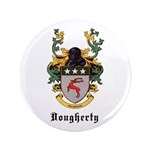 """Dougherty Coat of Arms 3.5"""" Button (100 pack)"""