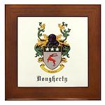 Dougherty Coat of Arms Framed Tile