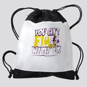 You Can't Fly With Us Witch Hal Drawstring Bag