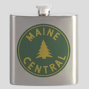 Main Central Railroad Flask