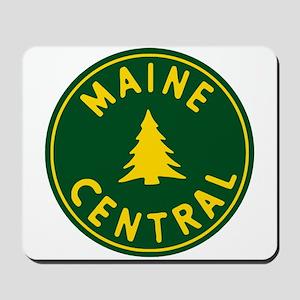Main Central Railroad Mousepad