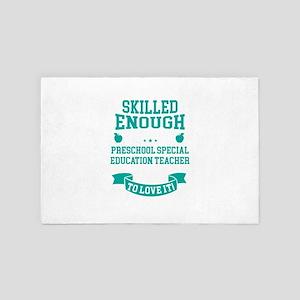 Skilled Preschool Special Education Te 4' x 6' Rug