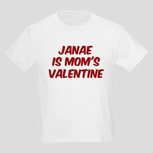 Janaes is moms valentine Kids Light T-Shirt