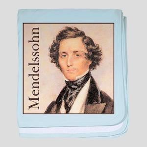 Felix Mendelssohn baby blanket