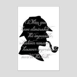 Sherlock Wisdom Posters