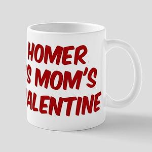 Homers is moms valentine Mug