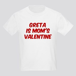 Gretas is moms valentine Kids Light T-Shirt