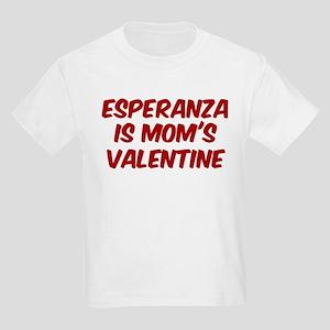 Esperanzas is moms valentine Kids Light T-Shirt