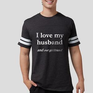 Husband/our girlfriend Women's Dark T-Shirt