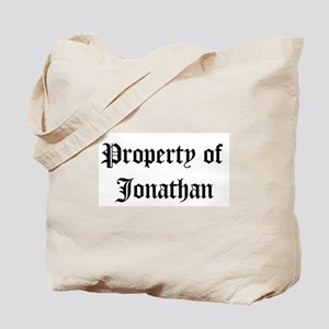 Property of Jonathan Tote Bag