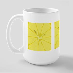 Lemon Slices Large Mug