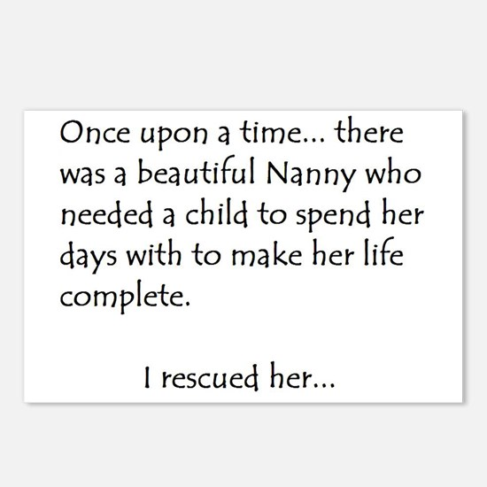 THE STORY OF NANNY Postcards (Package of 8)