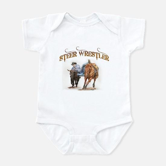 Steer Wrestler Infant Bodysuit