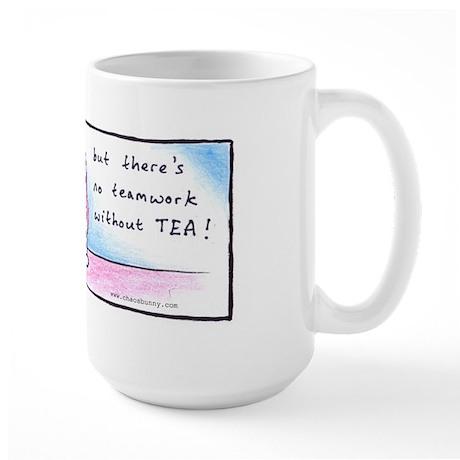 Chaosbunny Large Mug - No Teamwork without Tea
