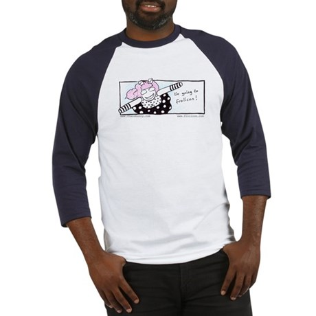 Chaosbunny Baseball Jersey - Going to Frolicon!