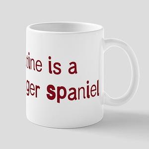 Welsh Springer Spaniel valent Mug
