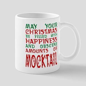 May Christmas Filled Happiness Amounts Mockta Mugs