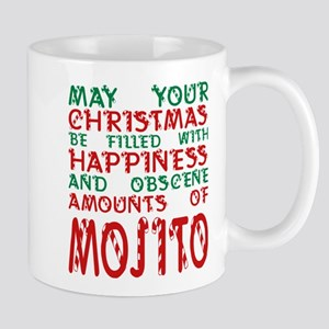 May Your Christmas Filled Happiness Amounts M Mugs