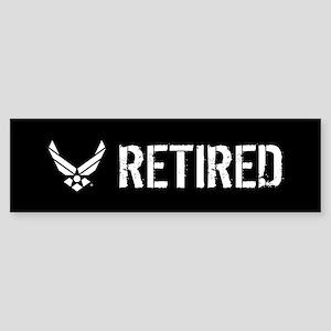 U.S. Air Force: Retired Sticker (Bumper)
