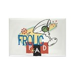 Frolic Pad Rectangle Magnet (10 pack)