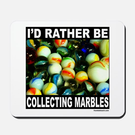 MARBLES Mousepad