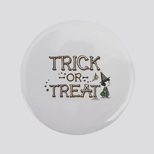 "Peanuts - Trick or Treat 3.5"" Button"
