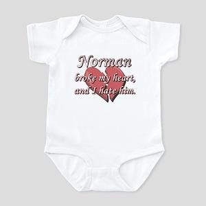 Norman broke my heart and I hate him Infant Bodysu