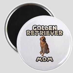 Golden Retriever Mom Magnet