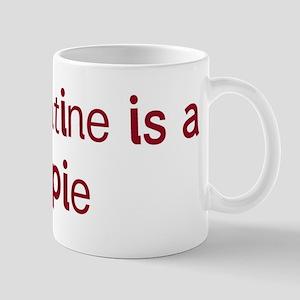 Kelpie valentine Mug