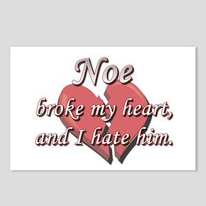 Noe broke my heart and I hate him Postcards (Packa