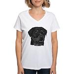 Rottweiler Women's V-Neck T-Shirt