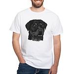 Rottweiler White T-Shirt