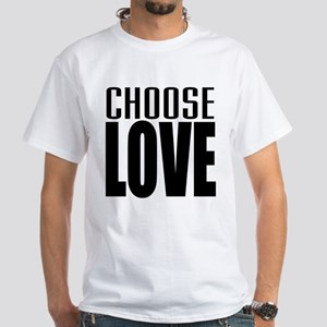 CHOOSE LOVE White T-Shirt