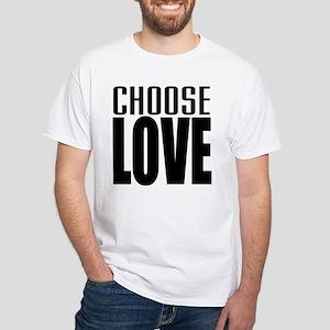 CHOOSE LOVE White T-Shirt