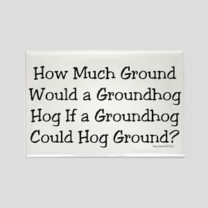 Groundhog Rectangle Magnet (10 pack)