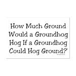 Groundhog Mini Poster Print