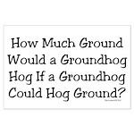 Groundhog Large Poster