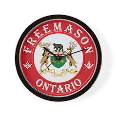 Ontario Mason Wall Clock
