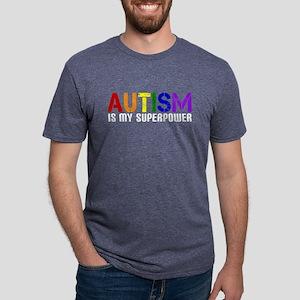 Autism is My Superpower Women's Dark T-Shirt