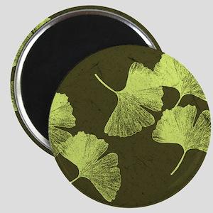 Ginkgo Leaves Magnet