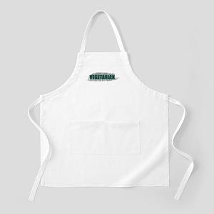 Artful Vegetarian BBQ Apron