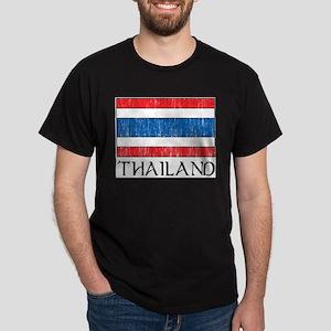 Thailand Flag Ash Grey T-Shirt