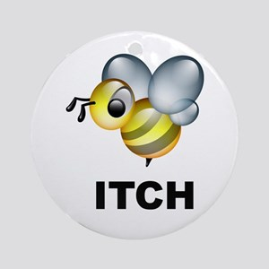 Bee-itch Ornament (Round)