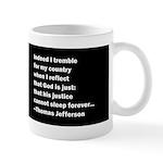Thomas Jefferson Quote 11 oz Ceramic Mug