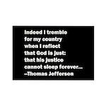 Thomas Jefferson Quote Rectangle Magnet