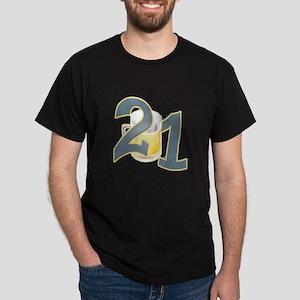 21st B-day Beer Dark T-Shirt