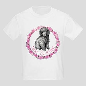 Poodle Valentine Kids Light T-Shirt