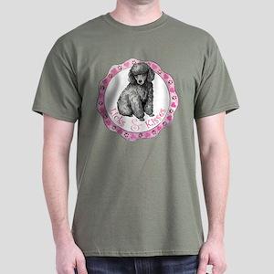 Poodle Valentine Dark T-Shirt