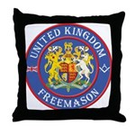 UK Masons Throw Pillow
